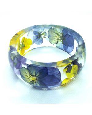 Viola wide bracelet