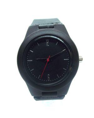 Dark sandalwood women personalised laser engraved watch