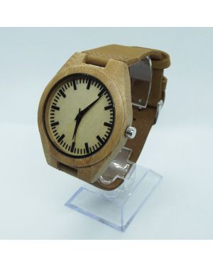 Bamboo version 2 personalised laser engraved watch
