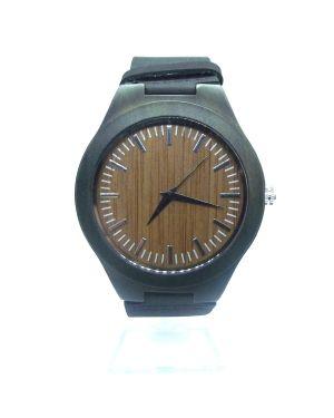 Sandalwood light brown personalised laser engraved watch