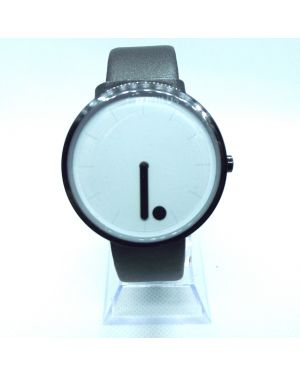 Black and white minimalist style watch
