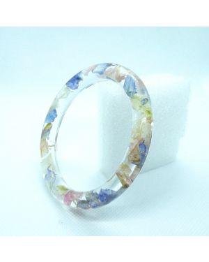 Pastel petals narrow bracelet
