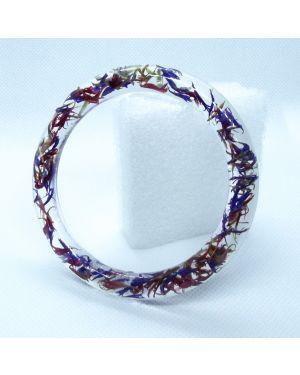 Cornflower narrow bracelet