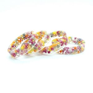 100s and 1000s flat resin ring