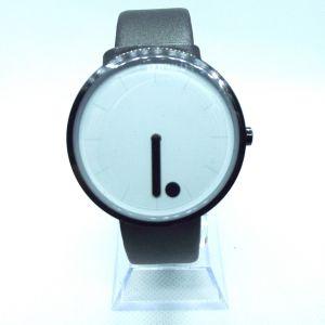 Black and white minimalist style watch
